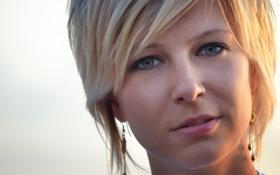 Картинка девушка, лицо, губы, girl, woman, Ольга Вастикова, Olga Vastikova