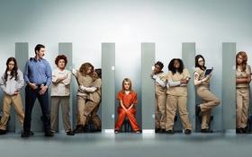 Обои Оранжевый — хит сезона, The series, Orange Is the New Black, Сериал