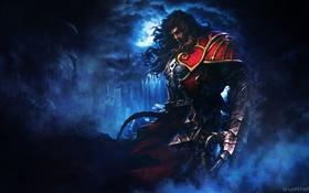 Обои armor, dark fantasy, video game, Castlevania, Gabriel Belmont, claw, combat cross