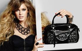 Картинка девушка, модель, сумка, Vanessa Hessler, Ванесса Хэслер
