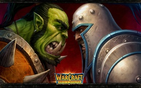 Обои человек, орк, wow, world of warcraft, orcs and humans