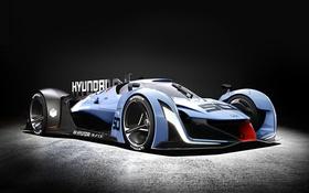 Обои суперкар, Vision, Hyundai, гран туризмо, Gran Turismo, 2015, хундай