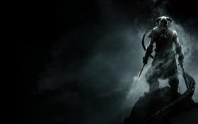 Обои The Elder Scrolls V Skyrim, Довакин, Action RPG, драконорождённый, игра года