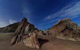 Картинка природа, скалы, берег