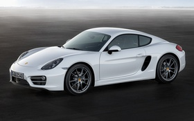 Обои Porsche, Cayman, порше, 2013, кайман