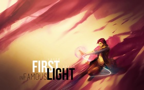 Обои neon, dlc, PlayStation 4, InFamous, inFamous: First Light, Abigail Walker