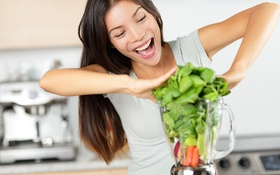 Обои liquefied vegetables, laughter, joys