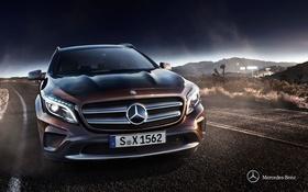 Обои X156, 2013, GLA-Class, Mercedes-Benz, мерседес
