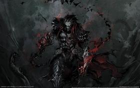 Картинка ночь, оружие, мрак, доспехи, вампиры, game wallpapers, Mercury Steam