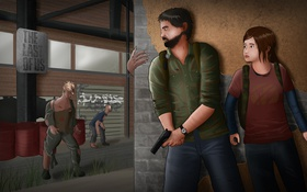 Картинка элли, Одни из нас, джоэл, The Last Of Us
