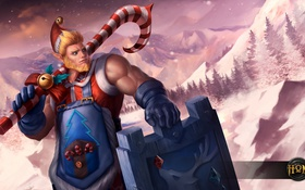 Обои fan art, Kane, Heroes of Newerth, парень, moba, Candy, hon