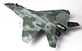 Картинка игрушка, истребитель, многоцелевой, МиГ-29, моделька