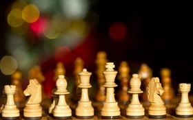 Обои макро, игра, шахматы, фигуры