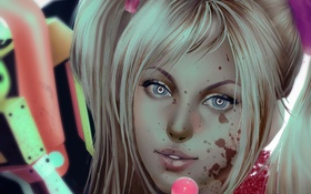 Картинка Lollipop Chainsaw, Juliet Starling, Grasshopper Manufacture