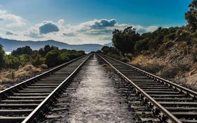 Картинка дорога, Sardinia Express, пейзаж