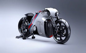 Картинка Design, Motorcycle, bold design, Lotus Concept, Number 1, Superbike, Lotus C-01