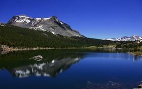 Картинка вода, горы, красота