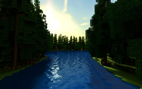 Обои wallpaper, game, Minecraft, 2014