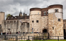 Обои замок, England, old, Англия, castle, старый, ancient
