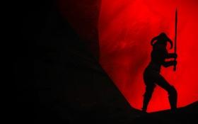 Обои The Elder Scrolls, Skyrim, девушка, игра, Скайрим