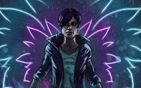 Картинка art, PlayStation 4, Sucker Punch Productions, Abigail Walker, inFamous: First Light
