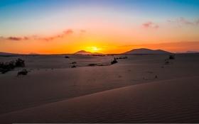 Обои песок, облака, дюны, Испания