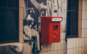 Обои полиция, ящик, Нидерланды, сигнал, ящик для доносов, alarm-politie