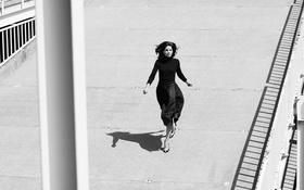 Картинка фото, актриса, черно-белое, Мишель Монахэн, Michelle Monaghan, фотосессия, Yahoo Style