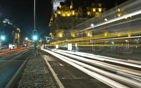Картинка город, Edinburgh, Princess Street