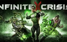 Обои art, mmorpg, infinite crisis, Warner Games, green lantern, DC comics