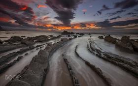 Обои море, природа, камни, скалы, Испания