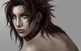 Обои девушка, лицо, тату, арт, Final Fantasy XIII, Oerba Yun Fang