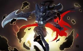 Картинка женщина, Dota 2, Phantom Assassin, DotA, Defense of the Ancients, мортред, Игры