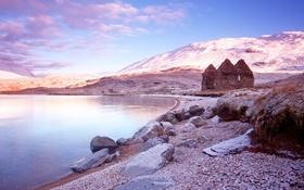 Картинка небо, природа, озеро, Шотландия, Scottish, Loch Assynt
