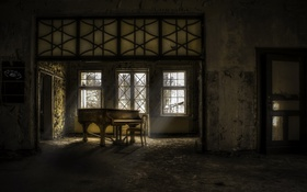 Картинка пианино, комната, музыка