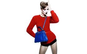 Картинка стиль, модель, сумка, karlie kloss
