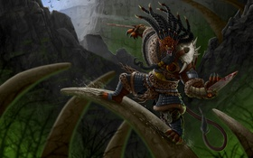 Картинка Pridestalker, Rengar, hunter, League of Legends, lol