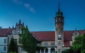 Обои Ulenburg, Германия, замок, фото, город
