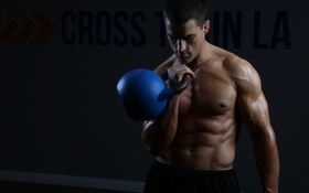 Обои cross, train, weight, muscle mass