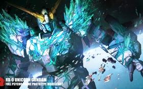 Картинка робот, аниме, арт, Gundam, Unicorn