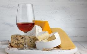 Обои вино, сыр, доска, ветевка