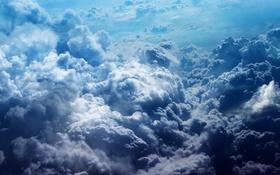 Обои облока, шторм, небо, тучи