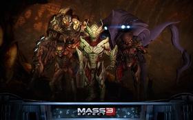"""Картинка штурмовик, Mass Effect 3, дополнение """"Возмездие"""", коллекционеры, DLC Retaliation, отродье, отпрыск"""