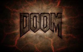 Картинка трещины, фон, текстура, Doom, Дум