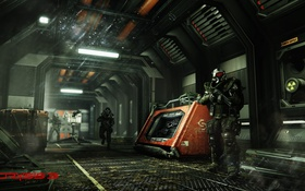 Картинка Crysis, Game, Weapon, Crysis 3, Soldier, SCI Fi, CryEngine