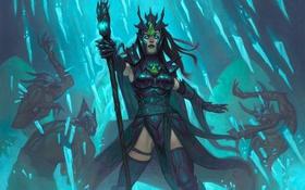 Картинка blizzard, diablo 3, reaper of souls, Чародейка