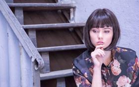 Картинка стиль, модель, портрет, причёска, бренд, ALBA CONDE