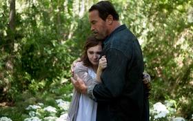 Обои Мэгги, Maggie, триллер, драма, ужасы, Arnold Schwarzenegger, Abigail Breslin