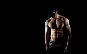 Обои sexy, muscles, pose