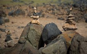 Картинка природа, фон, камни